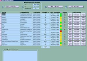 Screenshot Lieferantenbestellungen