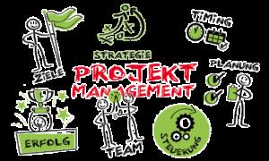 Zeichnung Projektmanagement